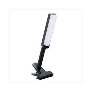 (まとめ)YAZAWA乾電池式LEDフレキシブルクリップライトCFLE03D07BK【×3セット】