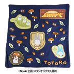 (まとめ)丸眞 となりのトトロ「トトロアイコン」 564104600 クッションカバー【×2セット】