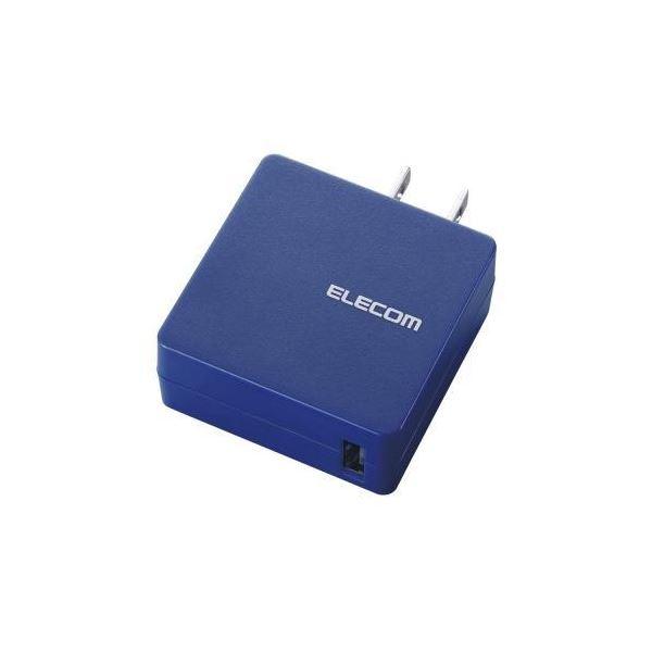 (まとめ)エレコム MPA-ACUCN004シリーズ1ポートBU MPA-ACUCN004BU【×3セット】f00