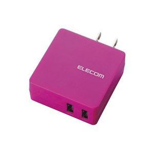 (まとめ)エレコム MPA-ACUCN005シリーズ2ポートPN MPA-ACUCN005PN【×3セット】 h01