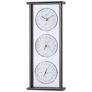 EMPEXスーパーEXギャラリー気象計・時計EX-793シルバー