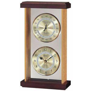 EMPEXスーパーEX温・湿度・時計EX-742ゴールド
