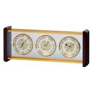 EMPEXスーパーEX気象計・時計EX-743ゴールド