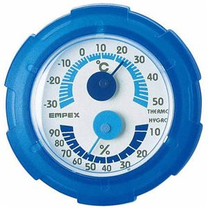 (まとめ)EMPEX 温・湿度計 シュクレミニ温...の商品画像