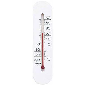 (まとめ)EMPEX温度計マグネットサーモTG-6641ホワイト【×10セット】
