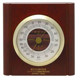 (まとめ)EMPEX温度・湿度計ルームガイド温度・湿度計置き掛け兼用TM-713【×3セット】