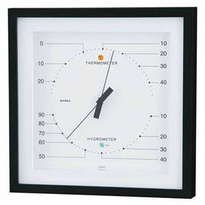 EMPEX 温度・湿度計 MONO 温度・湿度計 置き掛け兼用 MN-4831 ホワイト