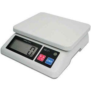 DRETEC キッチンスケール バックライト付大画面 デジタル プロスケール10kg はかり GS-510GY