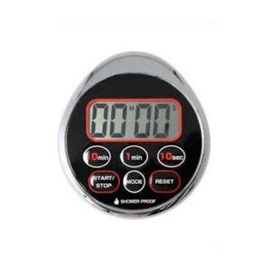 (まとめ)DRETEC濡れた手でもOK防滴構造時計付防滴タイマードロップT-156CR【×5セット】