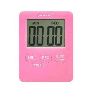 (まとめ)DRETECデジタルタイマーポケッティ薄さ9mmコンパクトなポケットサイズT-307PK【×5セット】