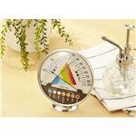 (まとめ)DRETEC 快適な温度 湿度がひと目でわかる 快適温湿度範囲表示 温湿度計 O-311WT【×5セット】