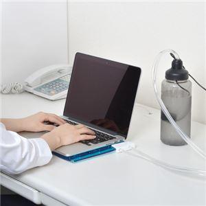 サンコー USB水冷静音クーリングマット USBWATC2 f06