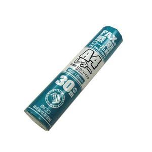 (まとめ)ミヨシ FAX感熱ロール紙 A4レタ-サイズ 30m巻き 0.5インチ芯 FXR30LH-1【×10セット】 h01