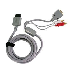 (まとめ)アンサー Wii U用 D端子ケーブル for Wii/Wii U ANS-WU031【×5セット】