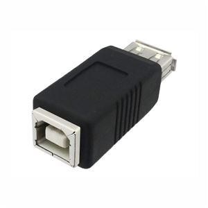 (まとめ)3Aカンパニー USB2.0 A(メス)-B(メス)中継プラグ USB変換アダプタ UAD-J20AB【×10セット】 h01
