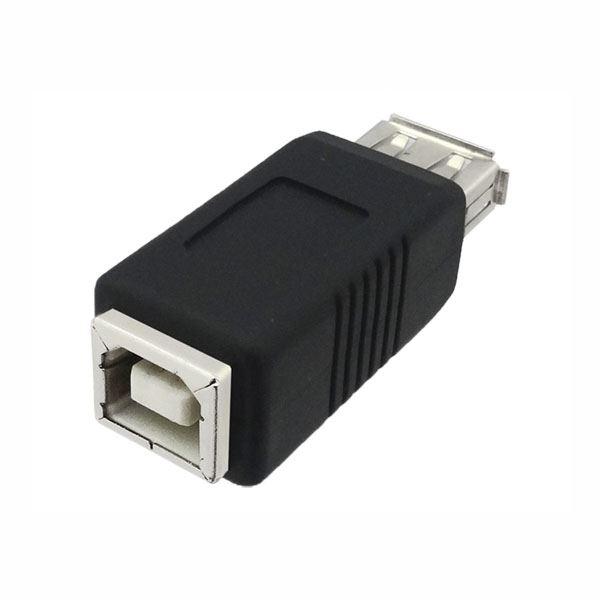 (まとめ)3Aカンパニー USB2.0 A(メス)-B(メス)中継プラグ USB変換アダプタ UAD-J20AB【×10セット】f00