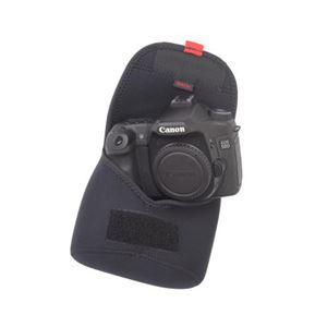 (まとめ)MATIN カメラボディケースV2 L ブラック M-10338【×2セット】 h02