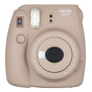 富士フイルム インスタントカメラ インスタックスミニ チェキ8 プラス ココア INSMINI8PCOCOA