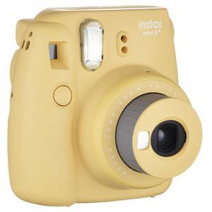 富士フイルム インスタントカメラ インスタックスミニ チェキ8 プラス ハニー INSMINI8PHONEY