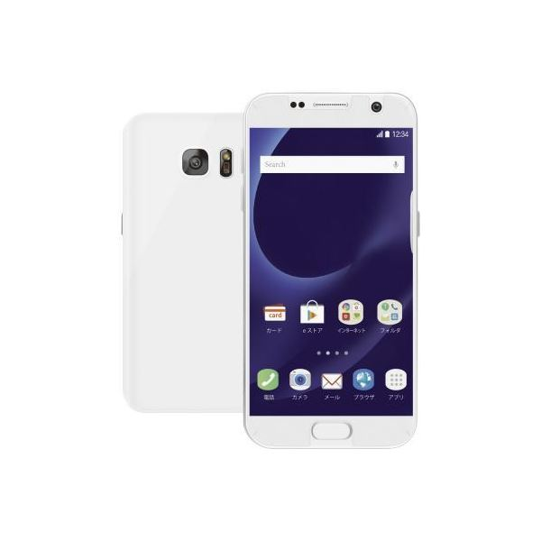 (まとめ)エレコム Galaxy S7 edge用衝撃吸収全面フィルム/スムース PM-GS7EFLFPAFL【×2セット】f00