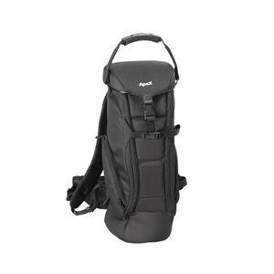 エツミ アペックス ロングレンズケース ブラック E-4206 商品画像