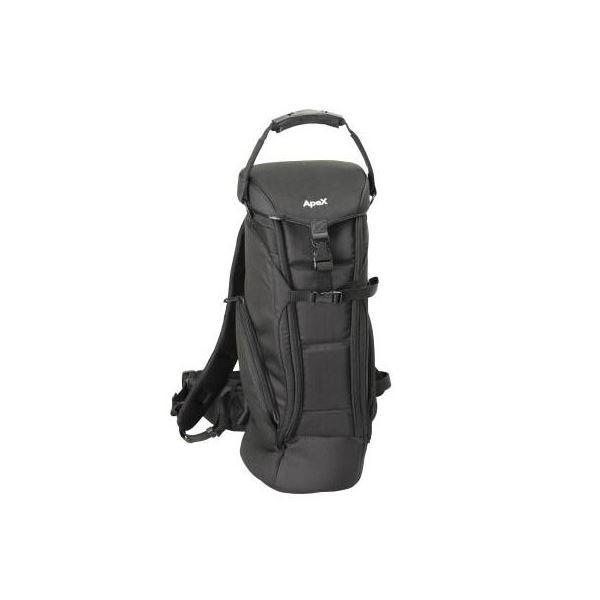 エツミ アペックス ロングレンズケース ブラック E-4206f00