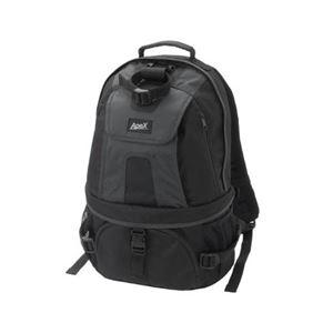 エツミ アペックスキャニオンM ブラック/ブラック E-4208 商品画像