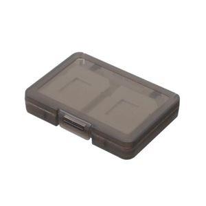 (まとめ)エツミ SDカードホルダー4 グレー E-5261【×10セット】 h01