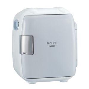 【訳あり・在庫処分】ツインバード 5.5L コンパクト電子保冷保温ボックス(グレー)TWINBIRD D-CUBE S HR-DB06GY - 拡大画像
