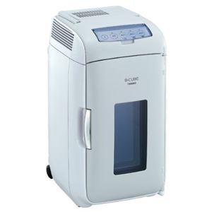 ツインバード 2電源式コンパクト電子保冷保温ボックス D-CUBE L HR-DB07GY