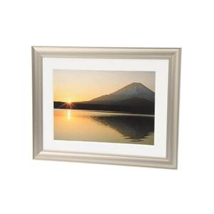 (まとめ)エツミ アルミ写真額2L(チタンゴールド) E-8002【×5セット】 商品画像