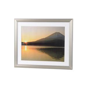 (まとめ)エツミ アルミ写真額6切(チタンゴールド) E-8004【×5セット】 商品画像