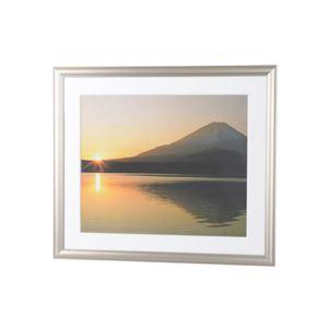 (まとめ)エツミ アルミ写真額4切(チタンゴールド) E-8008【×3セット】 商品画像