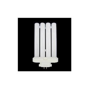 (まとめ)日立 パラライトフラット コンパクト形蛍光ランプ ハイルミック電球色27W FML27EX-LDK10【×10セット】