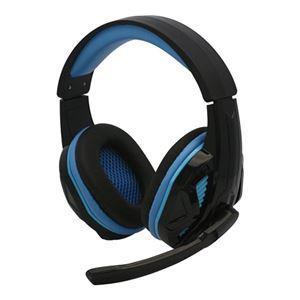 (まとめ)コロンバスサークル PS4/PC用マルチゲーミングヘッドセット ブラック CC-P4MGH-BK【×2セット】