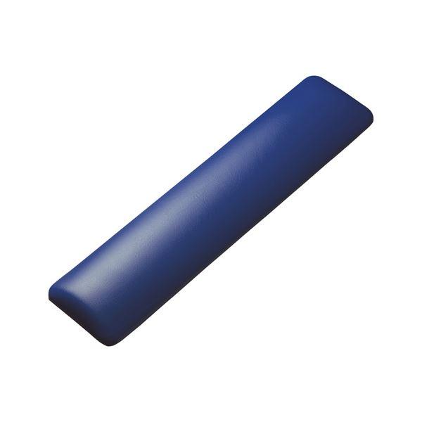 (まとめ)サンワサプライ キーボード用リストレスト(レザー調素材、ブルー) TOK-GELPNLBL【×2セット】f00
