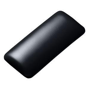 (まとめ)サンワサプライ マウス用リストレスト(レザー調素材、ブラック) TOK-GELPNSBK【×2セット】 h01