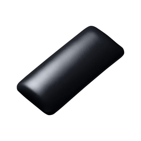 (まとめ)サンワサプライ マウス用リストレスト(レザー調素材、ブラック) TOK-GELPNSBK【×2セット】f00