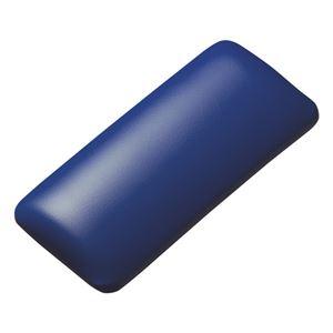 (まとめ)サンワサプライ マウス用リストレスト(レザー調素材、ブルー) TOK-GELPNSBL【×2セット】 h01