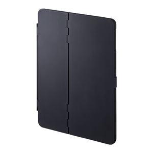 (まとめ)サンワサプライ iPadPro9.7インチiPadAir2ハードケース(スタンドタイプ・黒) PDA-IPAD94BK【×2セット】