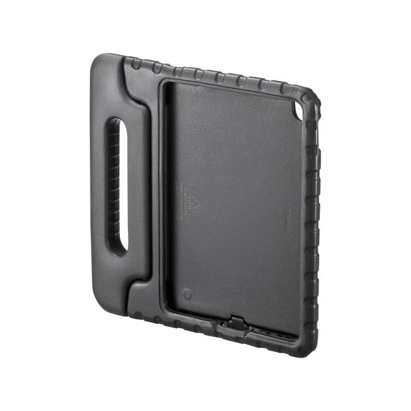 (まとめ)サンワサプライ iPadPro9.7インチiPadAir2衝撃吸収ケース黒 PDA-IPAD95BK【×2セット】f00