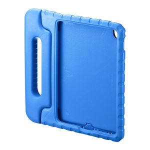 (まとめ)サンワサプライ iPadPro9.7インチiPadAir2衝撃吸収ケース青 PDA-IPAD95BL【×2セット】 h01