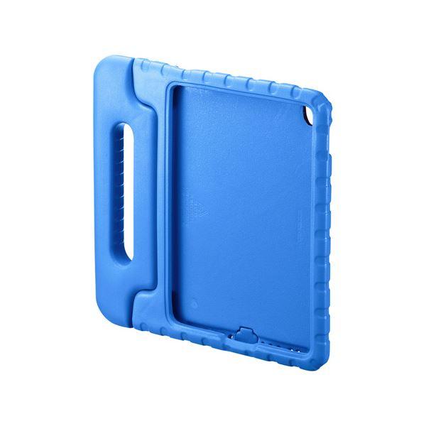 (まとめ)サンワサプライ iPadPro9.7インチiPadAir2衝撃吸収ケース青 PDA-IPAD95BL【×2セット】f00