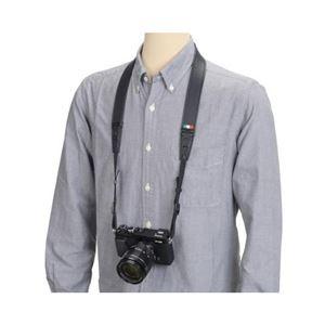 (まとめ)エツミ スフィーダカメラストラップ ブラック E-6753【×2セット】