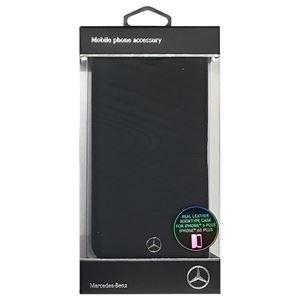Mercedes 公式ライセンス品 ORGANIC III 本革手帳型ケース Black MEFLBKP6LOLBK h01