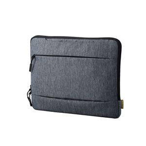 (まとめ)エレコムSurfaceLaptop専用インナーバッグ/取っ手付き/カジュアル/グレーBM-IBMSLGY【×2セット】