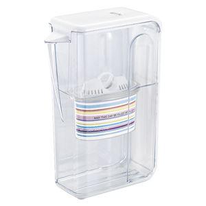 (まとめ) ララ・おいしい水出しポット美味水器(カートリッジ1本付) 【×3セット】