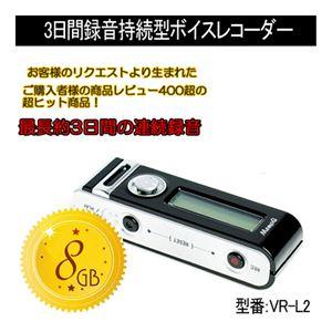 ベセトジャパン超小型高感度ボイスレコーダーVR-L2(8G)