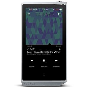 COWONBluetooth搭載ハイレゾ対応高品質プレーヤーPLENUER128GBシルバーPR-128G-SL