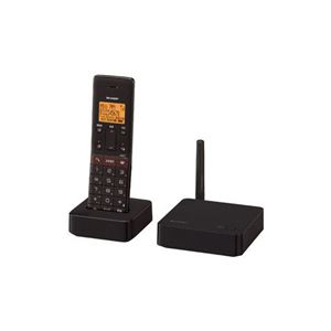 SHARP子機1台デジタルコードレス留守番電話機ブラウン系JD-SF1CL-T